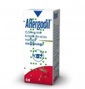 Allergodil 0,5% krople do oczu 6 ml