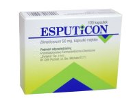 Esputicon 50 mg 100 kaps.