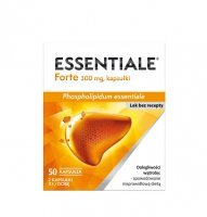 Essentiale Forte 300 mg 50 kaps.