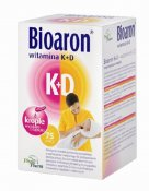 Bioaron Witamina K+D 75 kaps.twist-off
