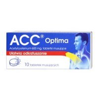 ACC Optima 600 mg 10 tabl.