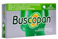 Buscopan 10 mg 20 tabl.