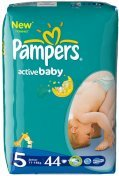 Pampers ACTIVE BABY JUNIOR (11-18kg) 44 szt.