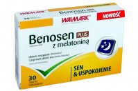 Benosen Plus z melatoniną 30 tabl.