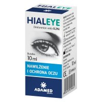 Hialeye 0,2% krople do oczu 10 ml