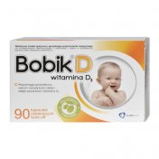 Bobik D (witamina D3) 90 kaps.twist-off