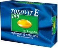 Tokovit E natural 100 mg 60 kaps.