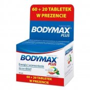 Bodymax Plus 60 tabletek + 20 tabletek GRATIS!!!