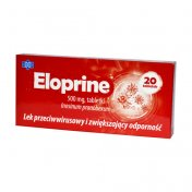 Eloprine 500 mg 20 tabl.