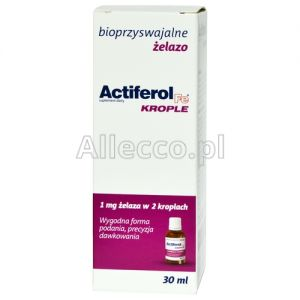ActiFerol Fe krople 30 ml / Żelazo