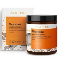 ALKEMIE No. 5 My Precious Nourishing Scrub Wash 200 g + No. 5 My Precious Nourishing Scrub Wash 30 g ZESTAW!!!