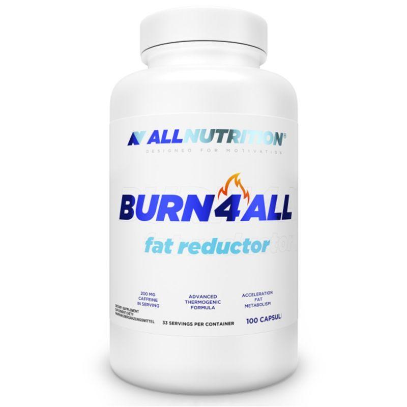 Allnutrition Burn 4 All Fat Reductor 100 Kapsulek Wspomagajace Odchudzanie Odchudzanie I Dieta Allecco Pl