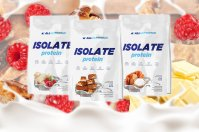 ALLNUTRITION Isolate Protein (Strawberry) 908 g / Izolat białka