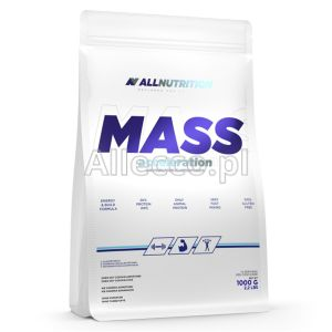 ALLNUTRITION Mass Acceleration (White Chocolate) 1000 g