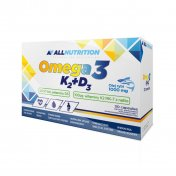 ALLNUTRITION Omega 3 + D3 + K2 30 tabletek