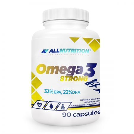 ALLNUTRITION Omega 3 Strong 90 kapsułek