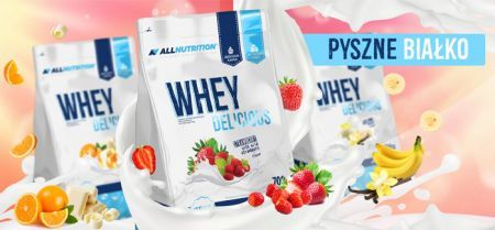 ALLNUTRITION Whey Delicious (Vanilla) 700 g