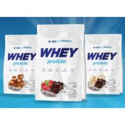 ALLNUTRITION Whey Protein (Double Chocolate Flavour) 2270 g