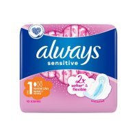 ALWAYS Ultra Sensitive Normal Plus Podpaski ze skrzydełkami 10 szt.