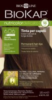BIOKAP NutriColor Delicato Rapid 6.06 (Ciemny blond) 135 ml