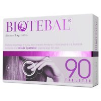 Biotebal 5 mg 90 tabletek