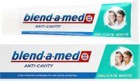 BLEND-A-MED ANTI-CAVITY Delicate White Pasta do zębów 100 ml