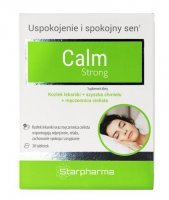 Calm strong 30 tabletek / Spokój i relaks