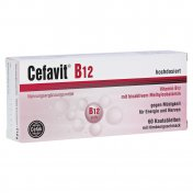 Cefavit B12 60 tabletek do żucia