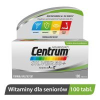 Centrum kompletne od A do Z Silver 50+ Multiefekt 100 tabletek