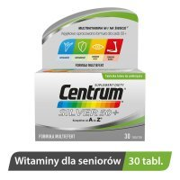 Centrum kompletne od A do Z Silver 50+ Multiefekt 30 tabletek