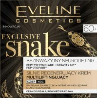 Eveline Exclusive Snake 60+ Krem koncentrat multiliftingujący na dzień i noc 50 ml