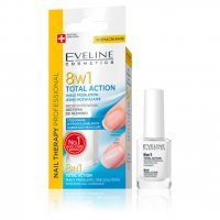 EVELINE NAIL THERAPY PROFESSIONAL TOTAL ACTION SKONCENTROWANA ODŻYWKA DO PAZNOKCI 8w1 12 ml