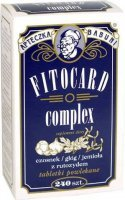 Fitocard complex 240 tabletek powlekanych