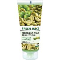 FRESH JUICE Lemongrass & Green Coffee Żel peelingujący do ciała  200 ml