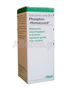 HEEL Phosphor-Homaccord krople 30 ml