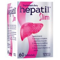 Hepatil Slim 60 tabletek