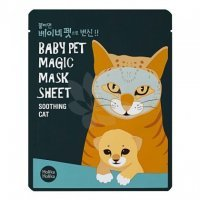 HOLIKA HOLIKA BABY PET MAGIC SHEET MASECZKA W PŁACIE CAT 1 szt.
