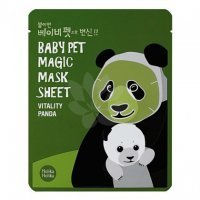 HOLIKA HOLIKA BABY PET MAGIC SHEET MASECZKA W PŁACIE PANDA 1 szt.