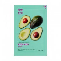 HOLIKA HOLIKA Pure Essence Mask Sheet MASKA W PŁACIE AVOCADO 1 szt.