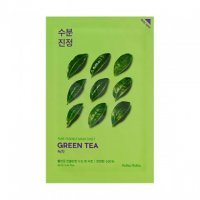 HOLIKA HOLIKA PURE ESSENCE MASK SHEET MASKA W PŁACIE Green Tea 1 szt.