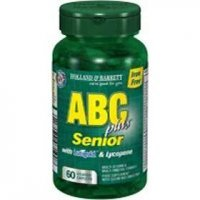 HOLLAND & BARRETT ABC Senior plus 60 kapletek powlekanych
