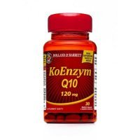 HOLLAND & BARRETT Koenzym Q10 120 mg 30 kapsułek