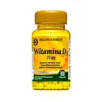 HOLLAND & BARRETT Witamina D3 25 ug 100 tabletek