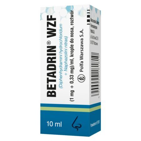 Betadrin WZF krople 10 ml