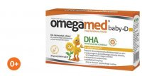 Omegamed BABY+D DHA 30 kaps. + PREZENT!!!