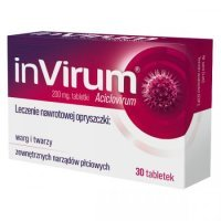 Invirum 200 mg 30 tabletek