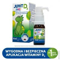 Juvit Baby D3 krople 10 ml