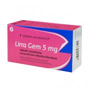 Lirra Gem 5 mg 7 tabletek