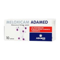 Meloxicam Adamed 7,5 mg 10 tabletek