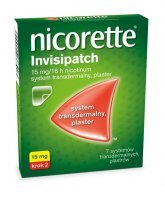 Nicorette Invisipatch 15mg/16h 7 plast.